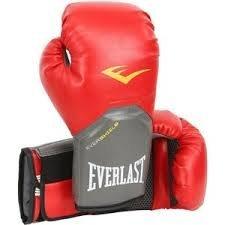 Everlast Boxing Training Gloves Elite Pro Style Red, 8 oz
