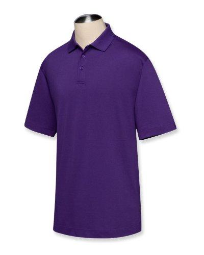 (Cutter & Buck BCK01263 Mens Cb Drytec Championship Polo, College Purple-LT)