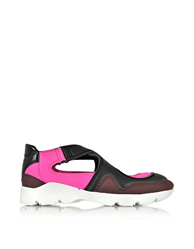 MAISON MARGIELA 11 Mm6 Maison Margiela Damen S40WS0050S47715962 Fuchsia Polyamid Slip on Sneakers