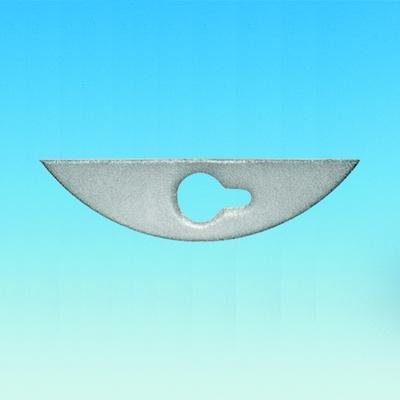 19 mm x 48 mm Size ACE GLASS 8085-03 PTFE Stirrer Blade 10 mm OD Shafts