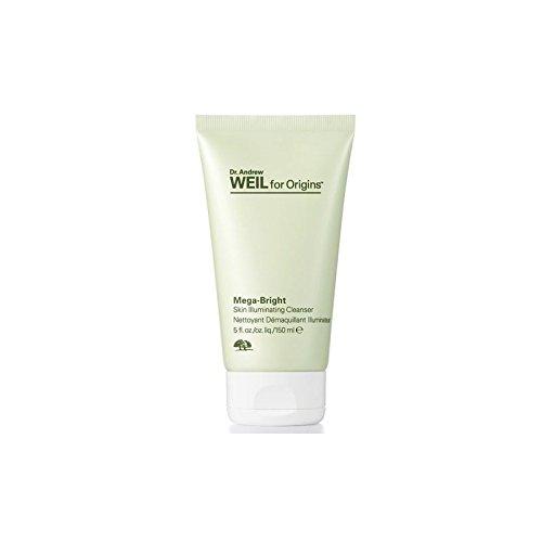 Origins Dr. Andrew Weil For Origins Mega-Bright Skin Illuminating Cleanser 150ml (Pack of 2)