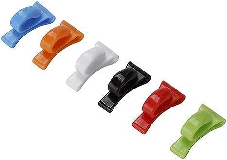 2 Pezzi Gancio Interno per la casa ABS in plastica Borsa a Tracolla Black /& White Random Pattern per Portachiavi Catena little finger Ganci e Ganci