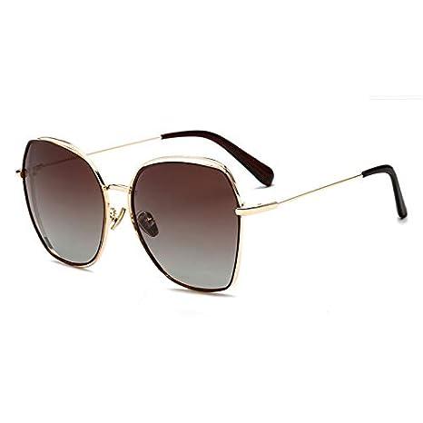 HYJ Oversize Gafas de Sol polarizadas Mujeres Gafas de Sol ...