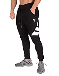 YoungLA 3 Stripe Fitted Fleece Joggers Fitness Activewear Sports Athletic Soccer Sweatpants 221