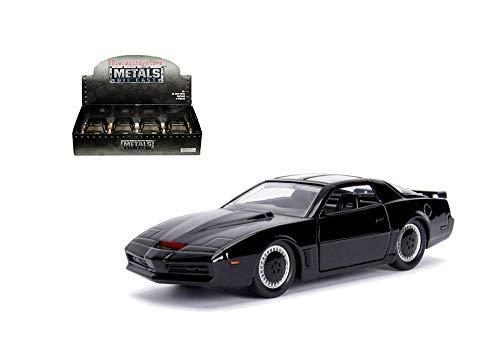 (New DIECAST Toys CAR JADA 1:24 Metals - Hollywood Rides - Knight Rider K.I.T.T. with Light Action)