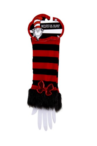 [elope Dr Seuss Cat In The Hat Fuzzy Glovettes] (Hat Costumes Accessory)