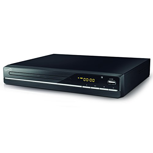 Why Should You Buy DVD Player with Full HD 1080p HDMI output ~ USB/SD card input ~ Plays most common...
