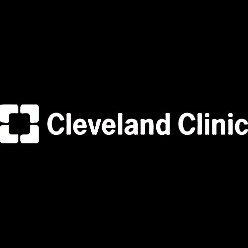 (NBFU DECALS Logo Cleveland Clinic (White) (Set of 2) Premium Waterproof Vinyl Decal Stickers for Laptop Phone Accessory Helmet CAR Window Bumper Mug Tuber Cup Door Wall Decoration)