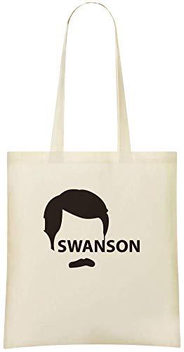 Stylish Grocery Use amp; Friendly Shoulder Tote Black Bag Handbag Bags Everyday Soft Swanson noir Pochoir 100 Swanson Cotton Eco For Ron Ron Custom Stencil Custom Printed CBqzwnU
