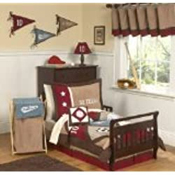 Sweet Jojo Designs 5-Piece All Star Sports Toddler Boy Bedding Set