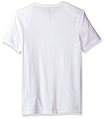 Calvin Klein Jeans Men's Short Sleeve Mirror Image Logo Crew Neck T-Shirt