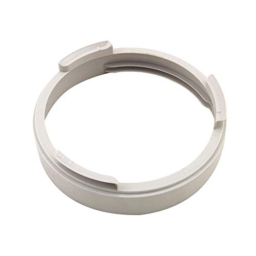 ller76 Air Conditioner Part Accessories Exhaust Duct Interface Hose ABS White Connector(3#Round)