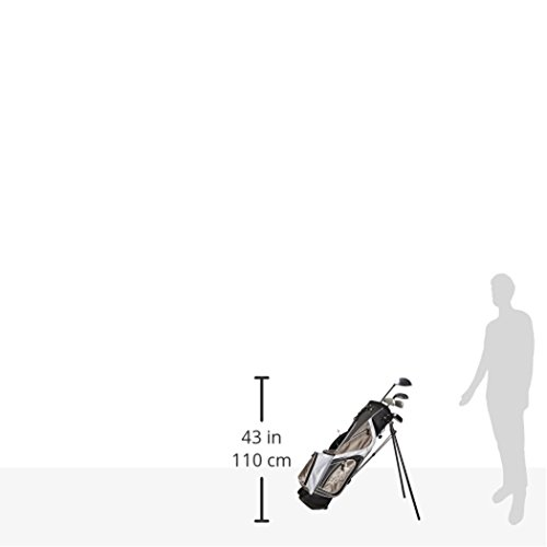 Merchants of Golf Tour X 5-Piece Junior Golf Complete Set with Stand Bag, Right Hand, 12+ Age, Graphite, Regular by Merchants of Golf (Image #5)