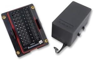 Amazon.com: COOPER BUSSMANN - 15303-4-0-4 - FUSE RELAY BLOCK, MINI ... bussmann fuse relay box Amazon.com