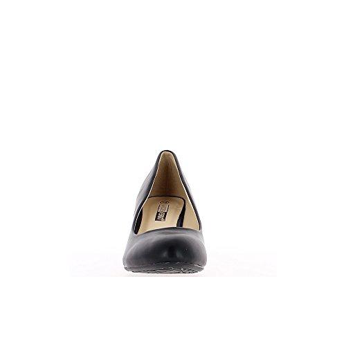 6cm negro tacón Bombas redondo clásico consejos tqwF86F5