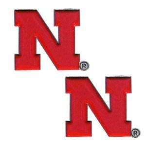NCAA Nebraska Cornhuskers Stud Earrings (Nebraska Cornhuskers Earring)