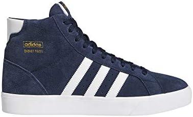 adidas Basket Profi, Scarpe da Ginnastica Man, Collegiate Navy/Ftwr White/Gold Met, 40 EU
