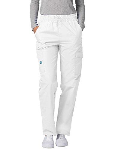 Donna Uniforme Da Pantaloni Bianco white Medico Camice Adar Ospedale q6TwIZxH