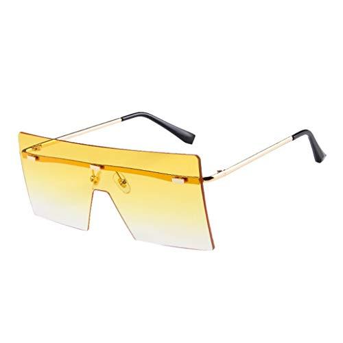 Fiaya Unisex Sun GlassesSquare Rimless Classic Frame UV Protection Sunglasses Fishing Sport Sunglasses (1PC, ()