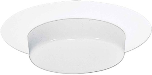 - HALO Recessed 271PS 6-Inch Showerlight Trim with Drop Opal Lens and Reflector, White