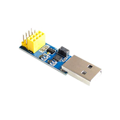 utl 10PCS/LOT ESP8266 ESP-01/ESP-01S WiFi Module Adapter Download Debug Link Kit for Arduino IDE USB to ESP8266 ESP-01s DIY Kit -  UTP, utl_1811231-2062