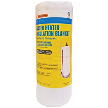 Frost King SP57/11C Water Heater Blanket, 3in Thick x 48in Tall x 75in Long, R10