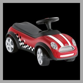 review mini cooper baby racer rutschauto bobby car. Black Bedroom Furniture Sets. Home Design Ideas