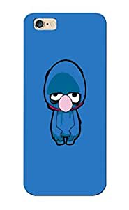 Awesome Tv Cartoons Zombies Brain Sesame Street Grover Flip Case With Fashion Design For Iphone 6 Plus