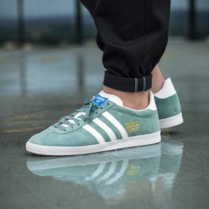 Running Shoes Men's adidas Grün Green Og Training Weiß Gazelle xWIW7qO