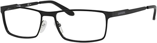 Carrera 6630 Eyeglass Frames CA6630-0003-5617 - Matte Black Frame, Lens Diameter 56mm, Distance