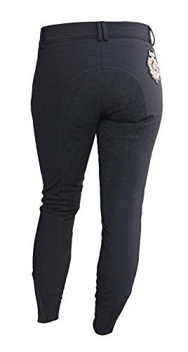 Para mujer de montar Cher HV Polo negro, color - negro, tamaño 46 ...