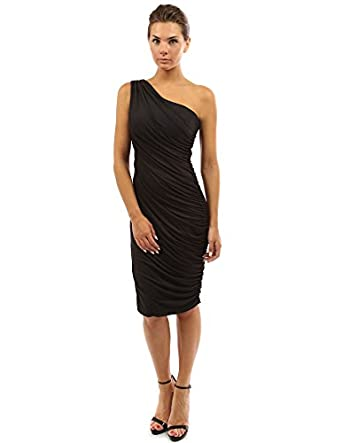 Amazon.com: PattyBoutik Women&39s One Shoulder Cocktail Dress: Clothing