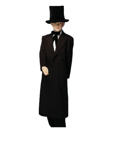 Boyu0027s Abraham Lincoln Costume for Theatre  sc 1 st  WebNuggetz.com : child abraham lincoln costume  - Germanpascual.Com