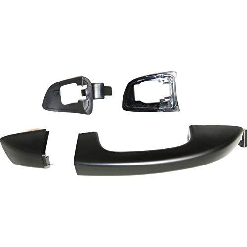- Exterior Door Handle For 2010-2014 Volkswagen Golf GTI Rear Right Primed Plastic
