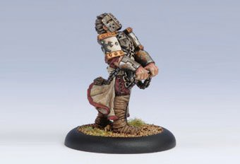 Privateer Press - Warmachine - Protectorate: Heavy Warjack Wreck Marker Model Kit 3