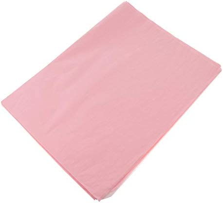 50枚 包装紙 花束 ギフト包装 表紙 DIY 装飾 エコ 便利 多色選べ - ウォーターピンク
