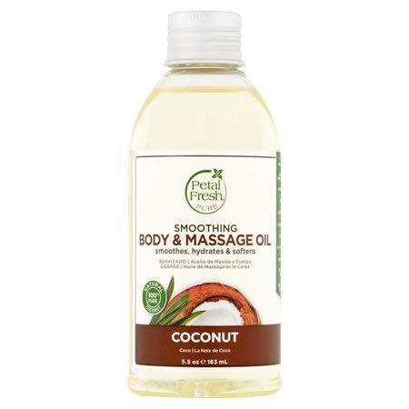 (Petal Fresh Body&Massage Oil 5.5oz (COCONUT))