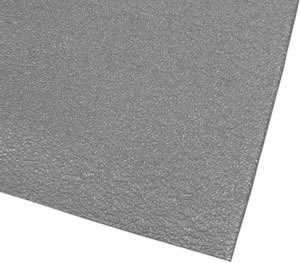 Grease Resistant Antifatigue Mat - Heavy Duty Work Safety Mat -''AirLift SuperShield'' - 36'' x 120'' - 1/2'' Thick - Textured Surface - Grey