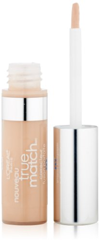 L'Oréal Paris Makeup True Match Super-Blendable Concealer, covers imperfections, evens tone and texture, restores brightness, 9 shades for all skintones, C1,2,3 Fair/Light Cool, 0.17 fl. oz