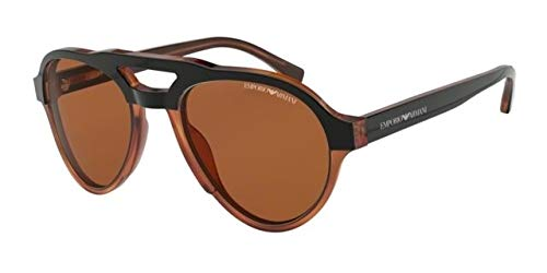 Emporio Armani 0EA4128 Gafas de sol, Top Matte Black On ...