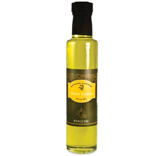 Sonoma Harvest, Meyer Lemon Olive Oil, 8.45oz - Fish Lemon Olive Oil