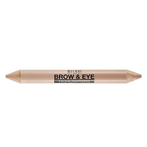 Milani Brow & Eye Highlighter, Matte Cream/Luminous Lift, 0.17 Ounce
