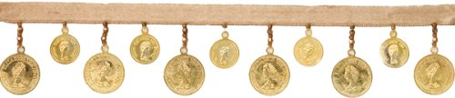 Gold  (Coin Trim For Costumes)