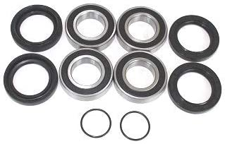 Boss Bearing Y-ATV-FR-1009-5J1-4 Both Front Wheel Bearings and Seals Kit for Suzuki LTF400 Eiger 2WD 2002-2007