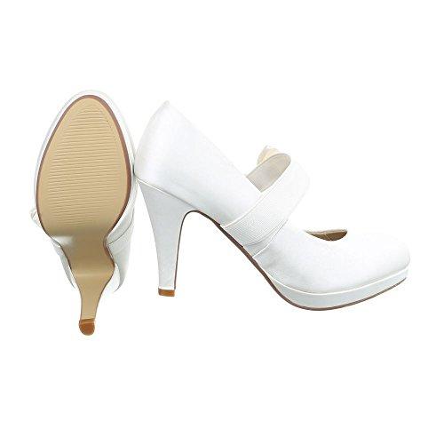 Ital-Design - Plataforma Mujer Beige