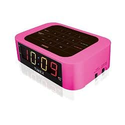 Timex Simple Set Direct Entry Alarm Clock - Pink