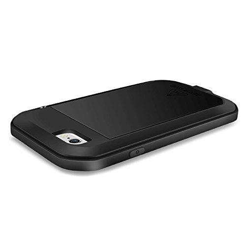 Love Mei Armor Coque rigide/métal de Case étanche, de la poussière Densité, anti-chocs, puissance forte Coque pour iPhone 6& ShockProof pour 6S avec écran 4,7en jaune