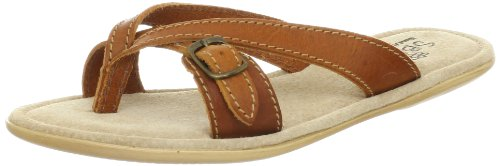 Sbicca Women's Fireworks Thong Sandal,Brown,8 B US
