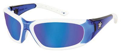 FF328B Crews Force Flex Next Gen Ultra-Flexible Safety Glasses. (12 Pairs) by Crews Safety Products