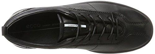 Femme Ecco Sneakers Soft Noir black 1 Basses qqw7ROrIy
